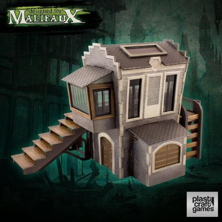 Malifaux: (Terrain) Downtown Building