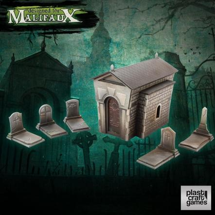 Malifaux: (Terrain) Graveyard Set