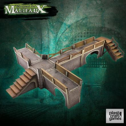 Malifaux: (Terrain) Sewers Walkway Set