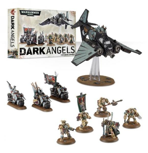 Warhammer 40K - Dark Vengeance Expansion Set: Dark Angels