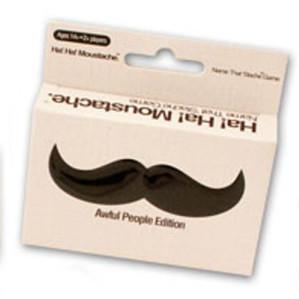 Ha! Ha! Moustache: Awful  People Edition
