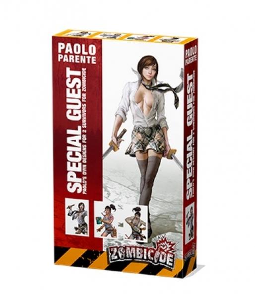 Zombicide: Guest Artist Survivor Sets - Special Guest Box 5 (Paolo  Parente)