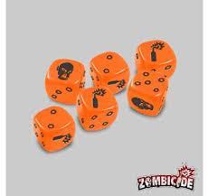 Zombicide: Dice - Orange