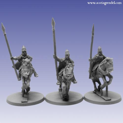Grendel Metal Figures: Northmen Cavalry with Spear I