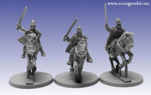 Grendel Metal Figures: Northmen Cavalry with Sword I