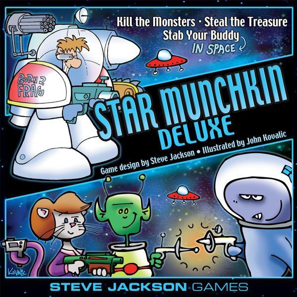 Munchkin: Star Munchkin (Deluxe Core Set)