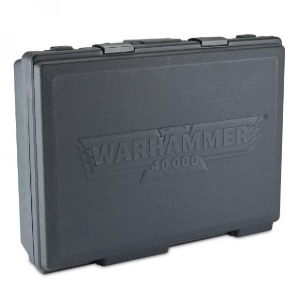 Miniature Cases: Warhammer 40,000 Army Case (Grey)