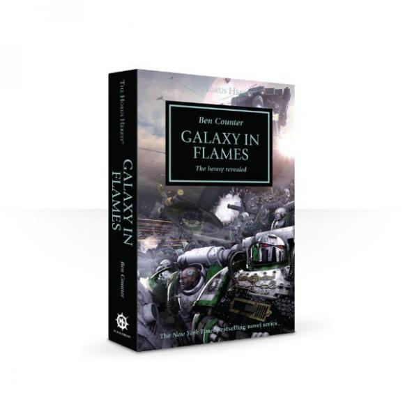 Warhammer 40K Novel: Horus Heresy, Galaxy in Flames
