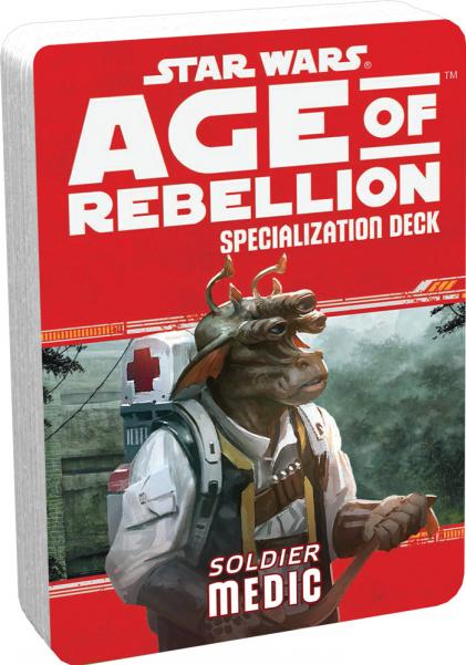 Age of Rebellion RPG: Medic Specialization Deck