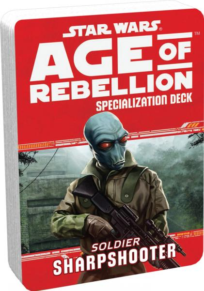 Age of Rebellion RPG: Sharpshooter Specialization Deck