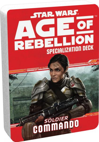 Age of Rebellion RPG: Commando Specialization Deck