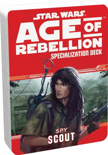Age of Rebellion RPG: Scout Specialization Deck
