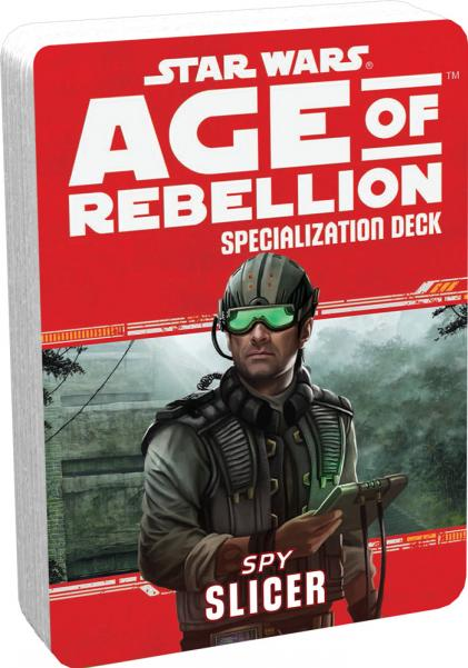 Age of Rebellion RPG: Slicer Specialization Deck