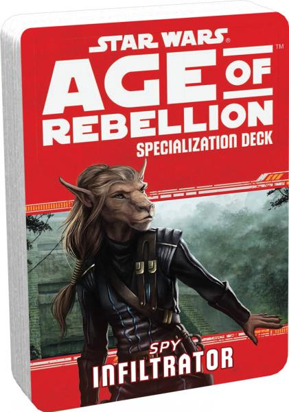 Age of Rebellion RPG: Infiltrator Specialization Deck