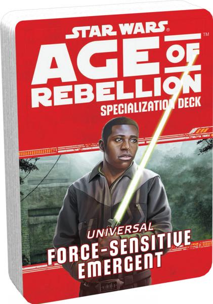 Age of Rebellion RPG: Force Sensitive Emergent Specialization Deck