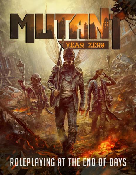 Mutant Year Zero: Core Rulebook