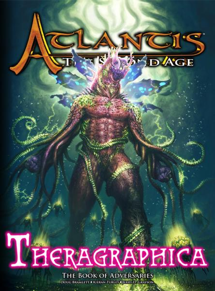 Atlantis: The Second Age RPG - Theragraphica (Supplement)