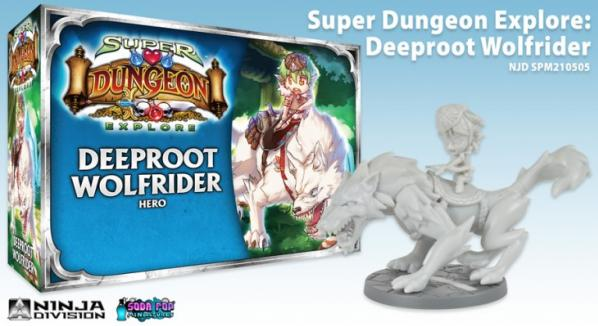 Super Dungeon Explore: Deeproot Wolf Rider