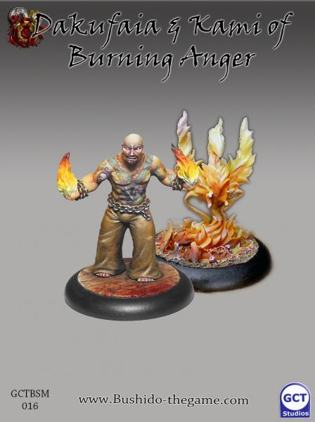 Bushido Miniatures: (Silvermoon Trade Syndicate) Dakufaia