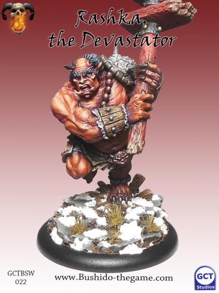 Bushido Miniatures: (Savage Wave) Rashka (Oni)