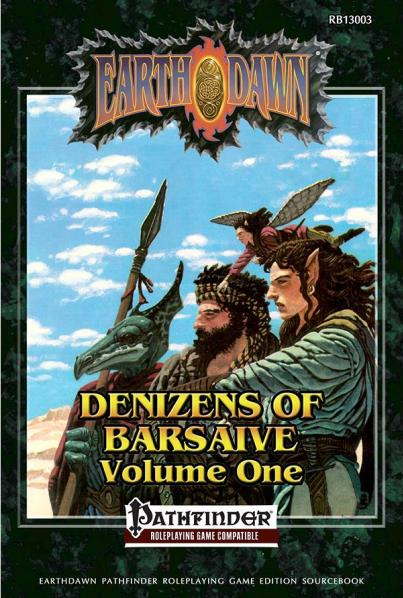 Earthdawn RPG: Deniz of Bars Version 1(Pathfinder)