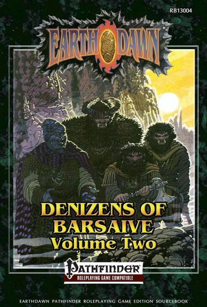Earthdawn RPG: Deniz of Bars Version 2 (Pathfinder)