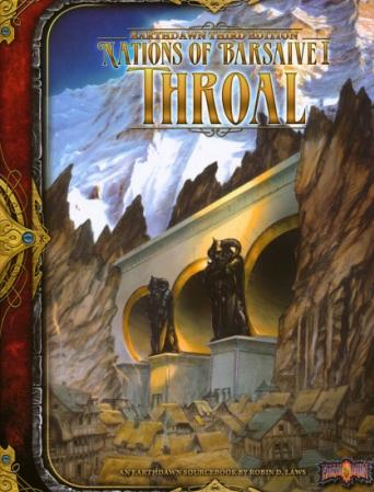 Earthdawn RPG 3rd Edition: Nations of Barsaive Volume 1 - Throal