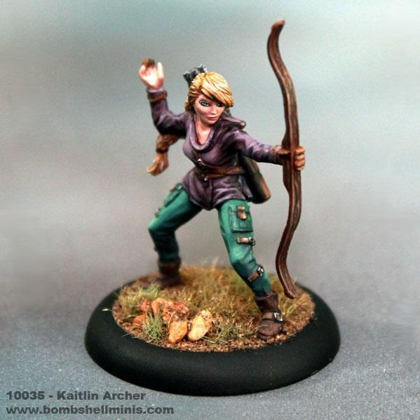 Bombshell Miniatures: Kaitlin the Archer
