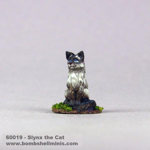 Bombshell Miniatures: Sidekicks - Slynx the Cat