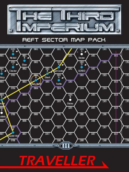Traveller RPG: Reft Sector Map Pack