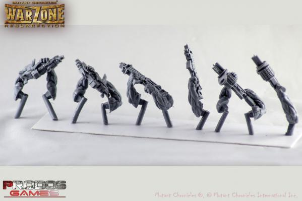 (Dark Legion) Nasca Razide Weapon Add-On Pack