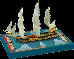 Sails of Glory - Spanish: Sirena, 1793 Frigate Ship Pack