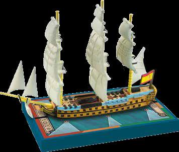 Sails of Glory - Spanish: Argonauta 1806, S.o.L. Ship Pack