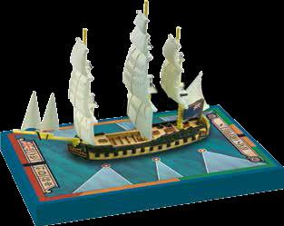 Sails of Glory - British: HMS Orpheus 1780, Frigate Ship Pack