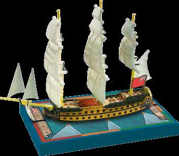 Sails of Glory - British: HMS Zealous 1785, S.o.L. Ship Pack