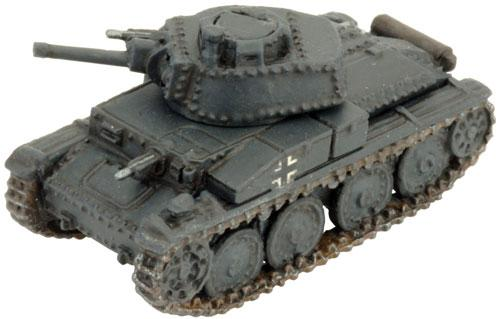 Flames of War: Panzer 38(t) E/F (uparmoured)