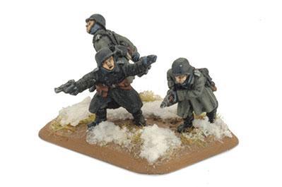 Flames of War - German: Infanterie Platoon (Greatcoat)