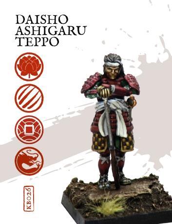 Kensei: (Basic Heroes) Daisho Ashigaru Teppo