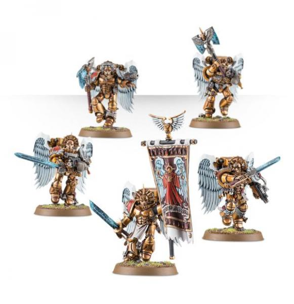 Warhammer 40K - Blood Angels: Sanguinary Guard