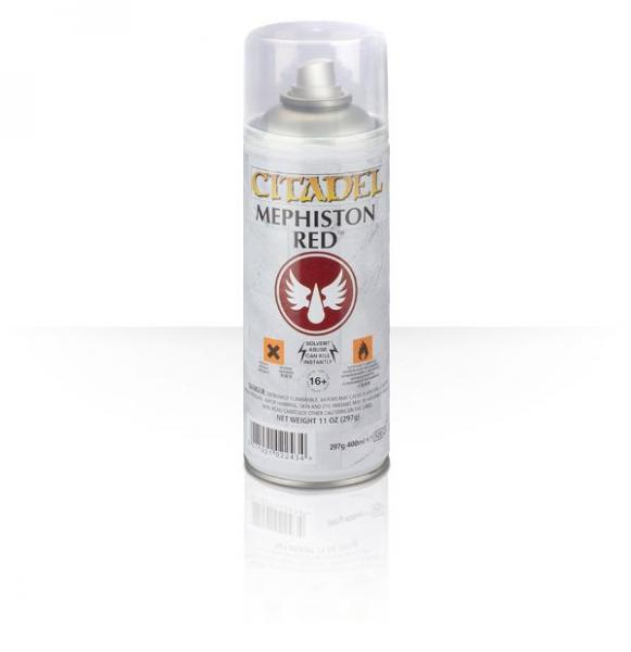 Citadel Spray Primer: Mephiston Red