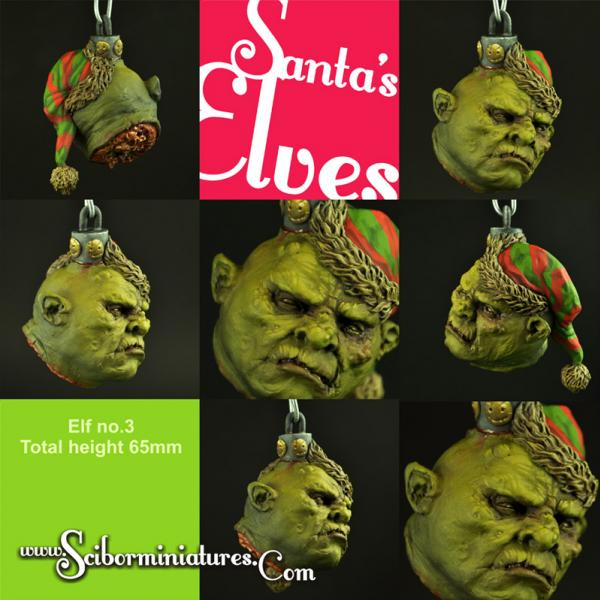 28mm Fantasy Miniatures: Santa's Elf Bulb #3