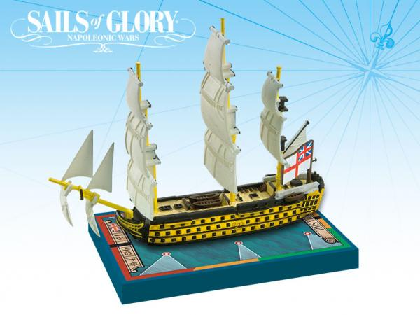 Sails of Glory - British: HMS Victory 1765 (1805) Special Ship Pack
