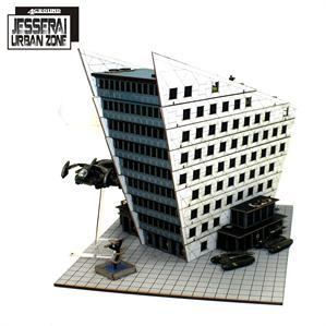 10mm Standard Terrain: District I Corporate Building