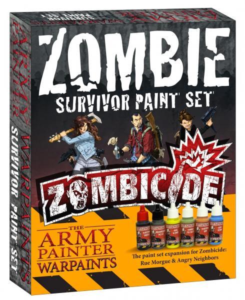 Zombicide: Survivor Paint Set