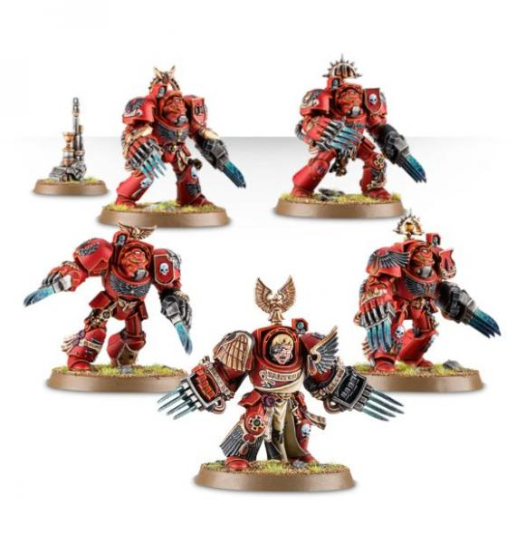 Warhammer 40K - Blood Angels: Terminator Assault Squad