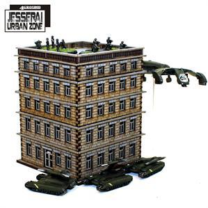 10mm Standard Terrain: District XXII Hab-Block 4