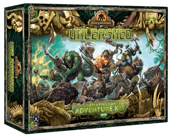 Iron Kingdoms Unleashed Roleplaying Game Adventure Kit