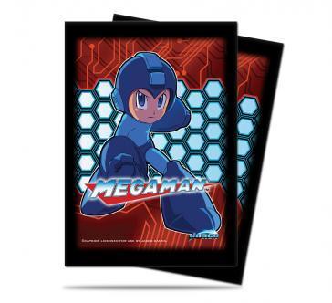 UltraPro Deck Protectors: Mega Man (50)