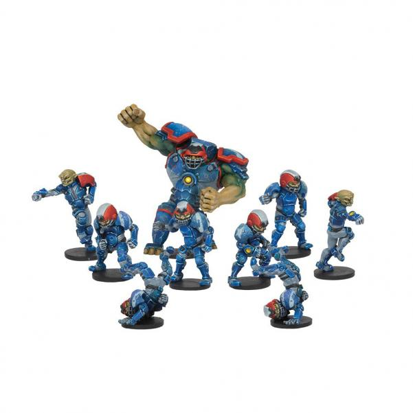 DreadBall - Rallion Roses: Hobgoblin Team