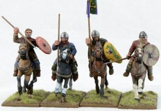 28mm Ancients: (Viking Age) Norman Pueri Command (4)